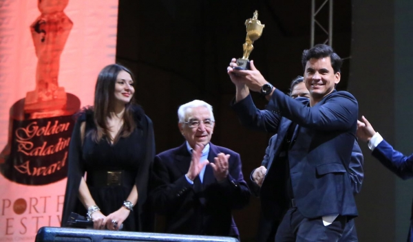 """The Strenght of the ball"" has been awarded as best film at the 38th Sport Film Festival"